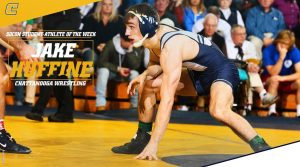 Huffine Named SoCon Student-Athlete of the Week